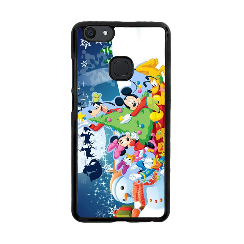 Flazzstore Mickey Mouse And Friends Christmas Z2695 Custom Casing for Vivo V7 Plus
