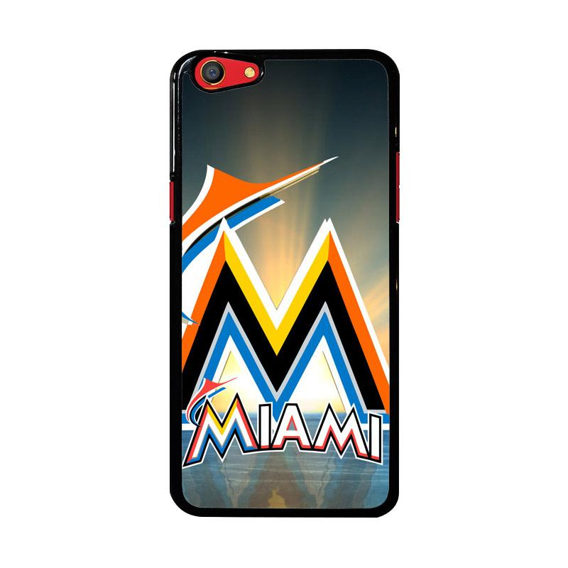 Flazzstore Miami Marlins Z3353 Custom Casing for Oppo F3