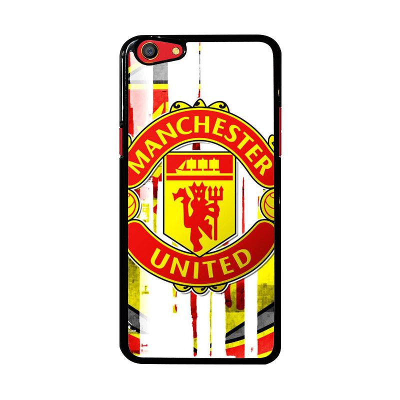 Flazzstore Manchester United  Art Logo Z4013 Custom Casing for Oppo F3