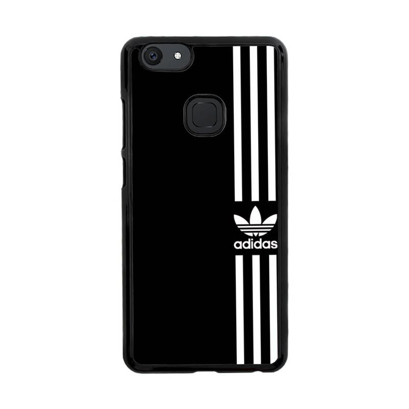 Flazzstore Adidas Logo Black White Z4002 Custom Casing for Vivo V7 Plus