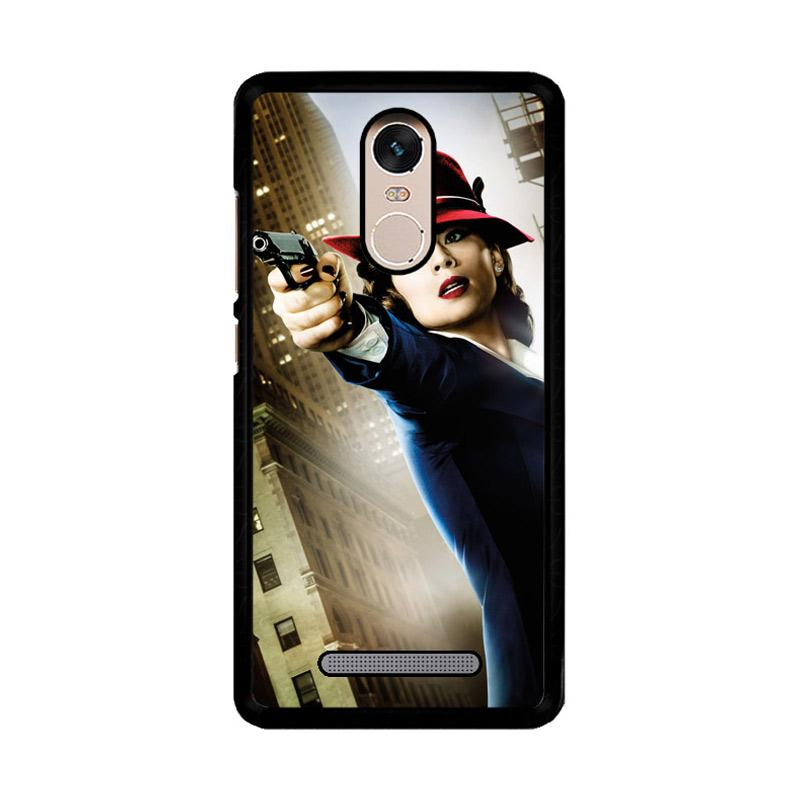 Flazzstore Agent Peggy Carter Z1577 Custom Casing for Xiaomi Redmi Note 3 or Note 3 Pro