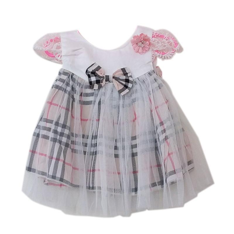 harga GBS Colette Dress Baby Burberry - Cream Blibli.com