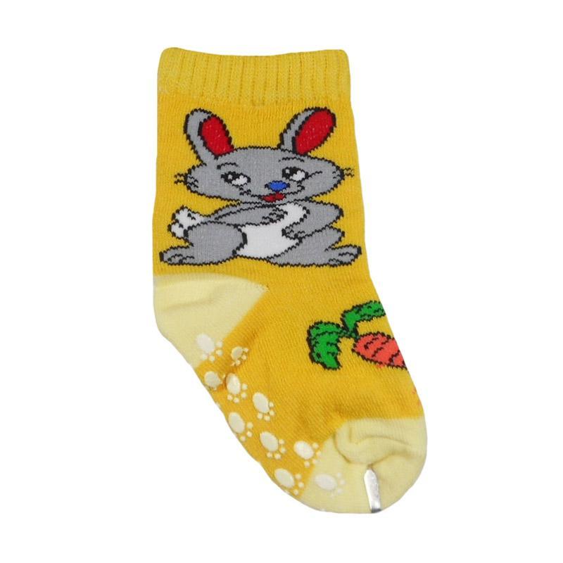 Nice Baby Motif Bunny Carrot Kaos Kaki Bayi - Kuning