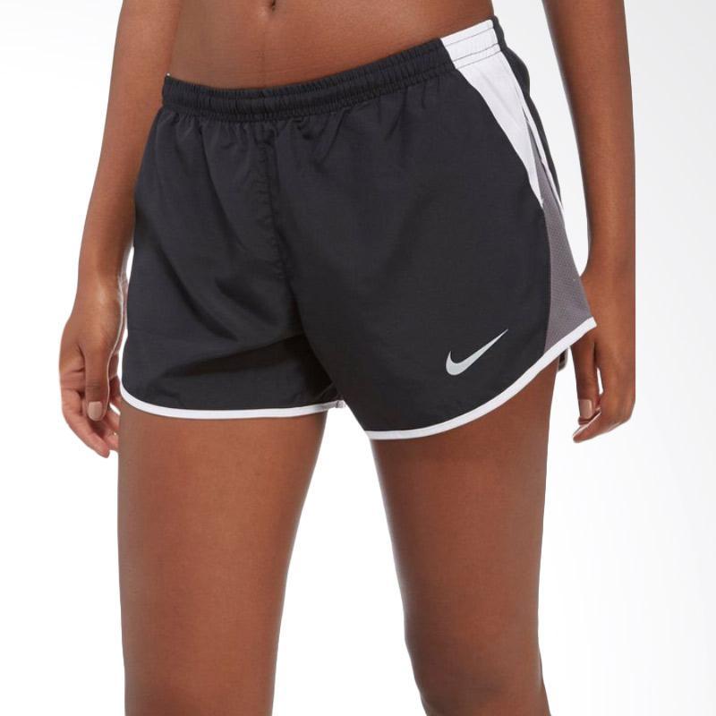 NIKE AS Women Dry Short Celana Olahraga Wanita - Black White [10K-849395010]