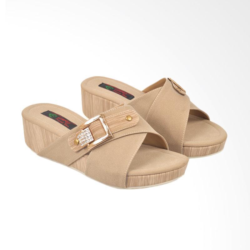 harga CBR Six CBX-BCC 891 Sandal Wedges Wanita Blibli.com
