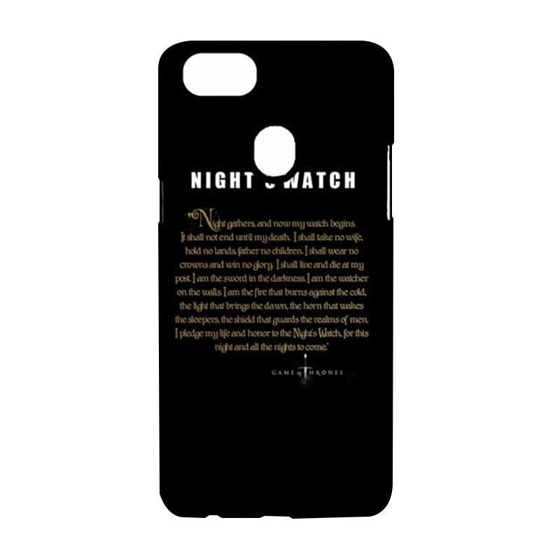 harga OEM Game Of Thrones Nights Watch Custom Hardcase Casing for OPPO F5 Blibli.com