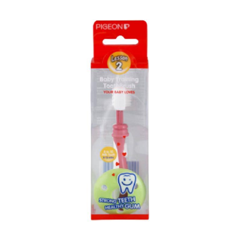 Pigeon Training Toothbrush L-3 Sikat Gigi Bayi - Blu... Rp 56.800. (1).  Pigeon ... c0f7598488