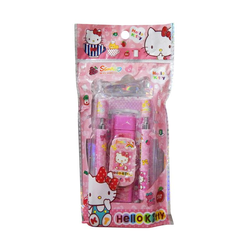 Wonderland Stationery 5in1 Hello Kitty Alat Tulis Sekolah