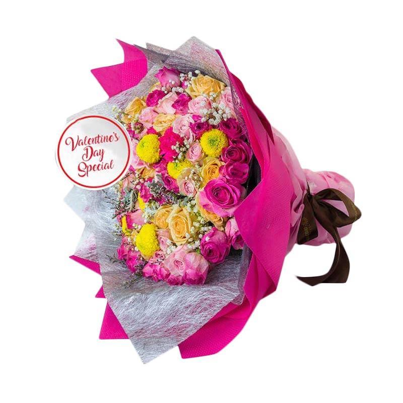 harga Flower Advisor Blushing Heart Buket Bunga Blibli.com