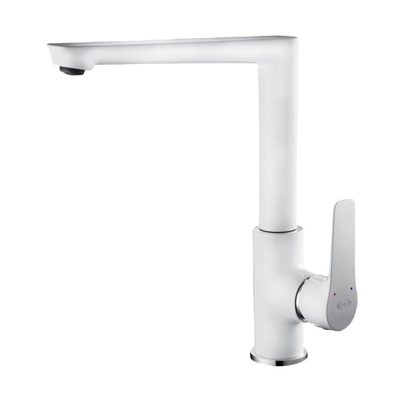 AER SAH KL1 Mixer Faucet Panas Dingin Kuningan Kran Dapur
