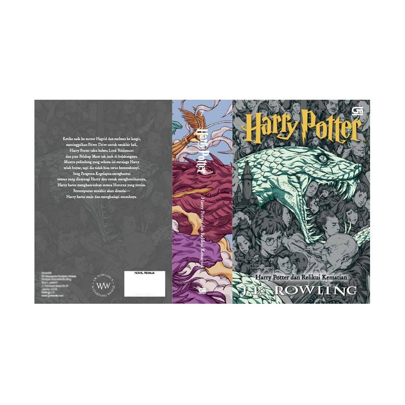 harga Pre Order - Gramedia Harry Potter dan Relikui Kematian Buku Fiksi [New Cover] + Bonus Poster dan Box Buku Blibli.com