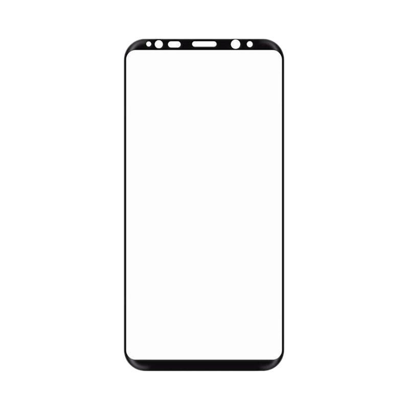harga OEM Premium Tempered Glass Screen Protector for Samsung Galaxy S8 Plus - Black Blibli.com