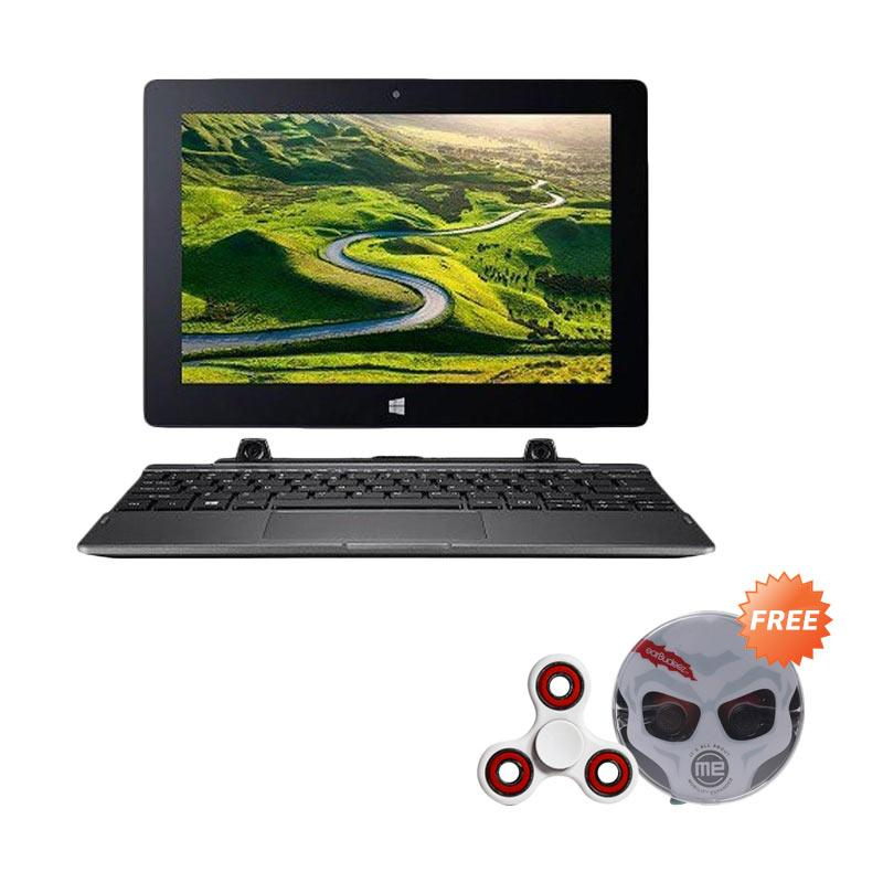Acer Switch One SW1-011 NT.LCTSN.001 Notebook - Black Silver + Free Audiovox JHB 506 Stereo Earphones - Black + Fidget Spinner