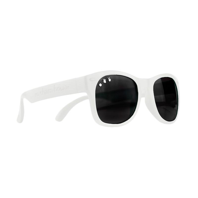 0dad6ef430d Jual Roshambo Baby Shade Ice Ice Baby Kacamata Anak - White  0-2 Years   Online - Harga   Kualitas Terjamin
