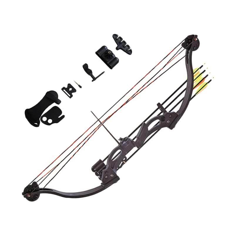 harga Junxing F118 Compound Bow Set Busur Panah Anak - Black [Fullset] Blibli.com