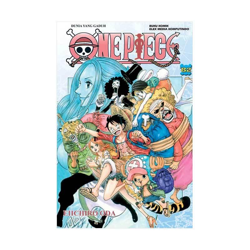 Gramedia Pustaka Utama One Piece 82 by Eiichiro Oda Buku Komik