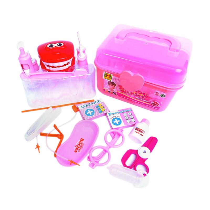 Yoyo Doctor Playset Dental Clinic Dentist Version Mainan Anak