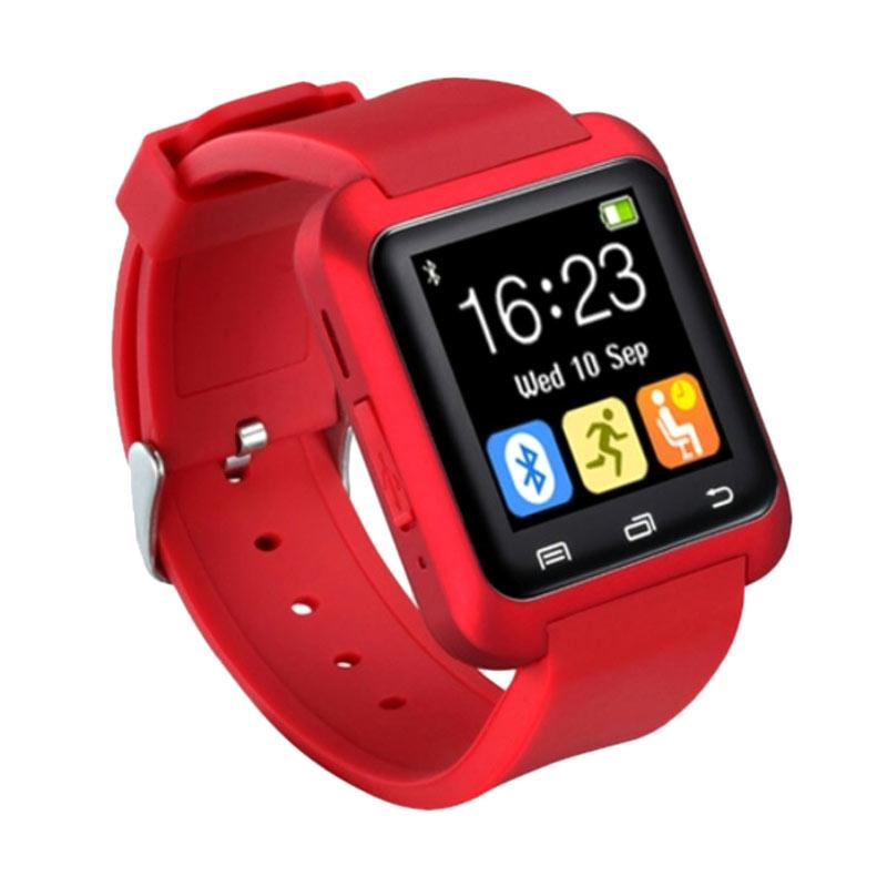 harga Xwatch U8 Delta Smartwatch - Merah Blibli.com