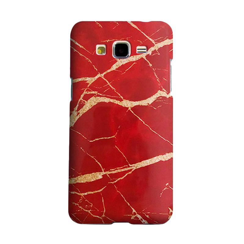 harga Premiumcaseid Red Marble Granite Stone Hardcase Casing for Samsung Galaxy Core 2 Blibli.com