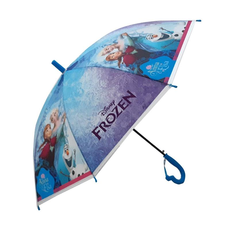 harga MOMO Karakter Frozen Payung Anak - Biru Blibli.com