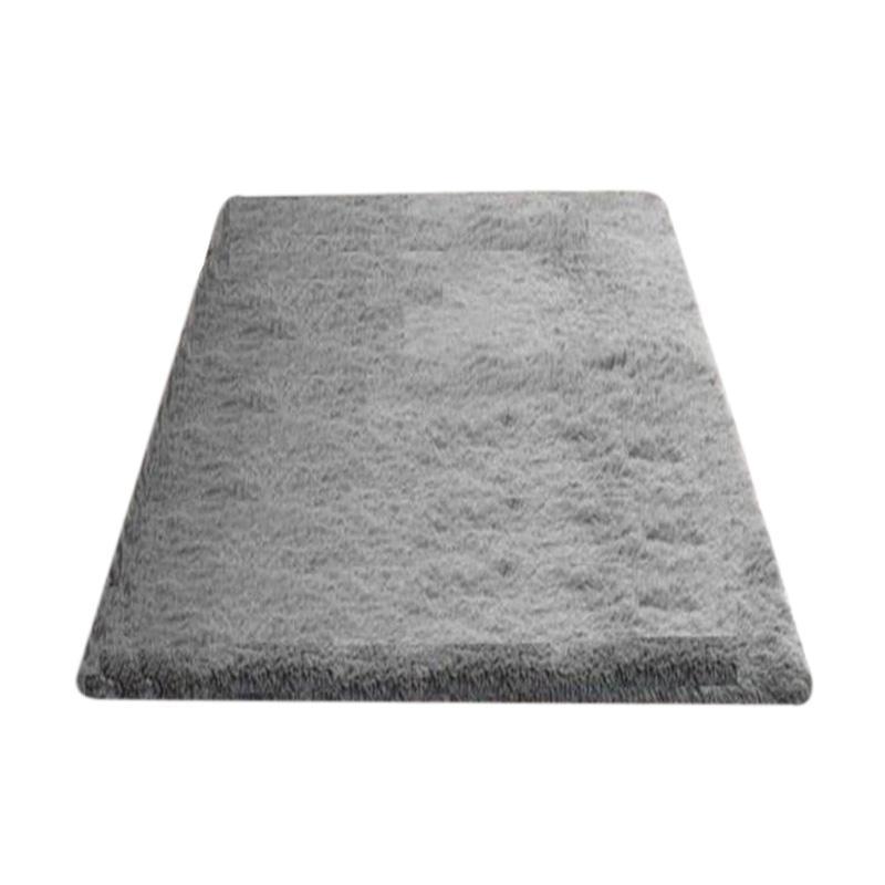 Jual Rasfur Besar Karpet Bulu - Abu abu [200 x 150 x 3 cm] Online Oktober 2020 | Blibli.com