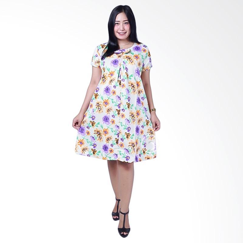 BUNGA GAUN UNTUK WANITA HAMIL HIJAU. Jual Mama Hamil DRO 826 Ceplok Bunga  Kutung Modis Baju Dress Ibu Hamil - Kuning Online 12202db8f4