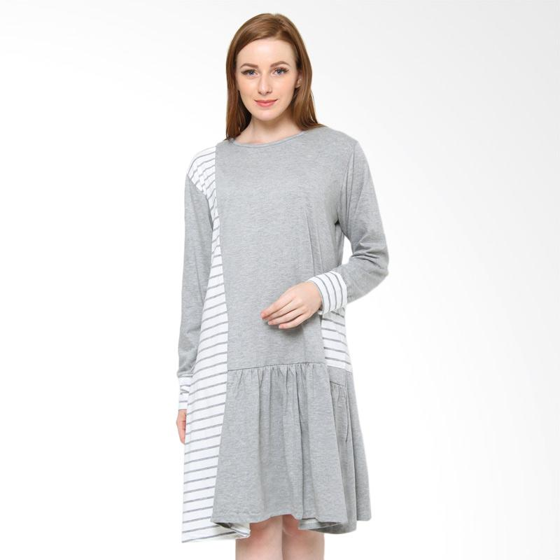 harga Jfashion Cinderella Kombinasi Warna Dress Tunik Wanita - Abu Blibli.com