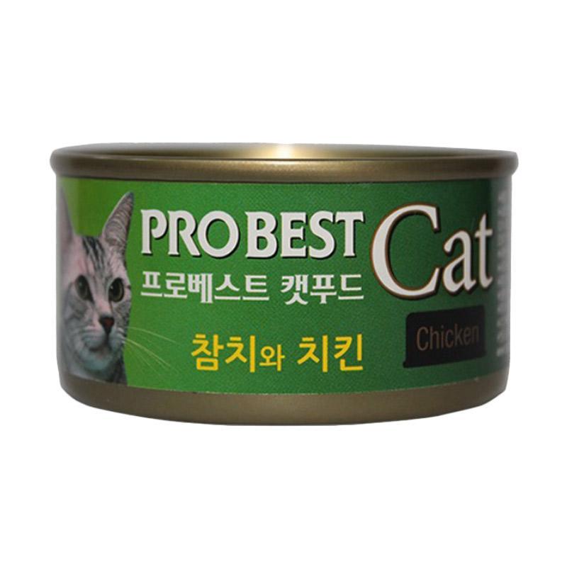 harga Probest Cat Canned Tuna & Chicken Makanan Kucing [80 g] Blibli.com