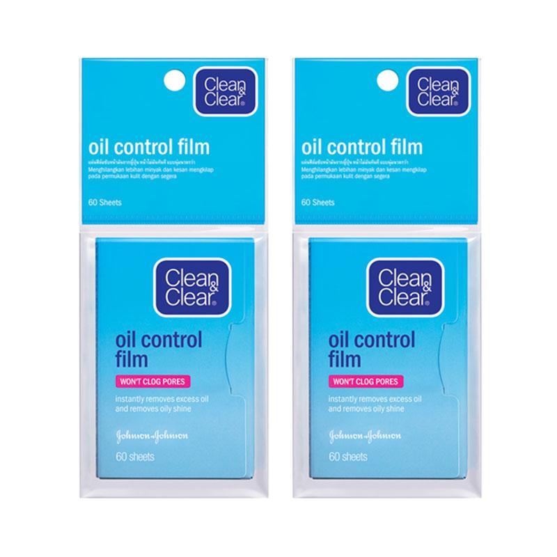 Clean Clear Oil Control Film Kertas Minyak Wajah