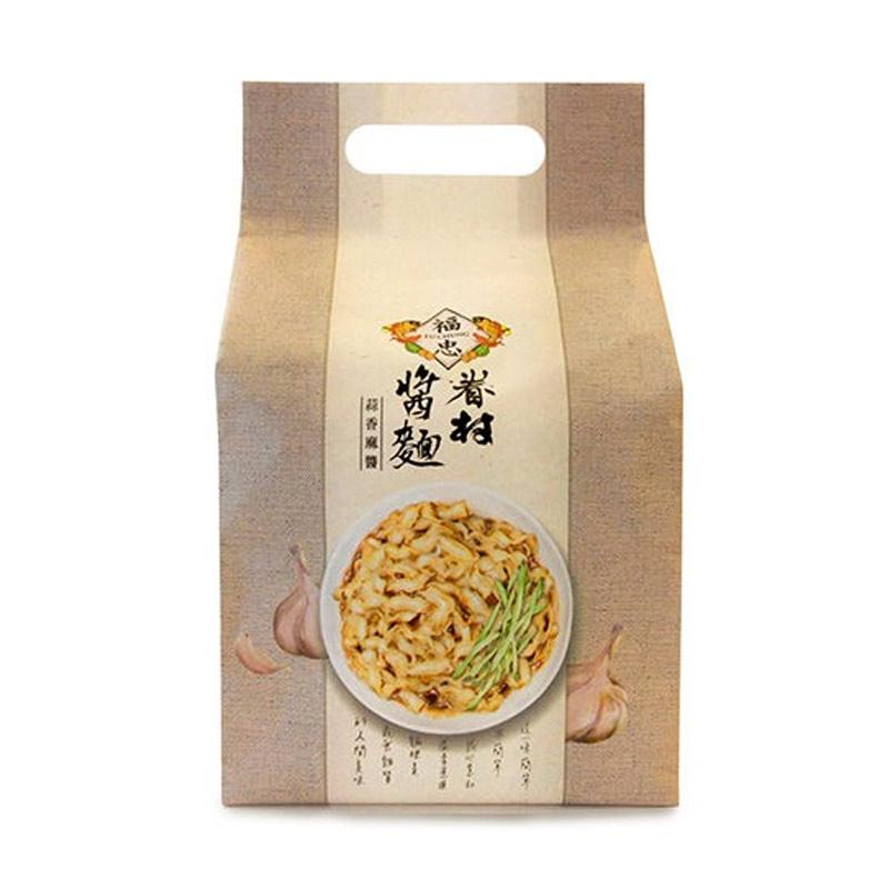 harga Fu Chung Village Garlic Sesame Flavor Taiwan Dried Noodles [125 g/ 4 pcs] Blibli.com
