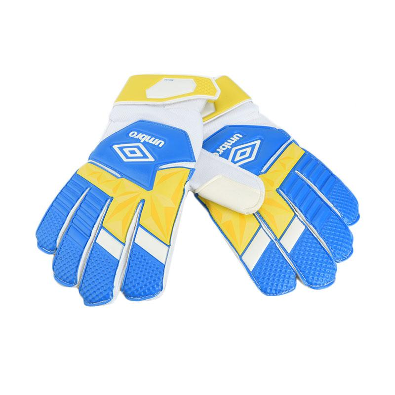 fbcfcfbffc Umbro Neo Club Glove Electric Sarung Tangan Sepakbola - White Blezing  Yellow  20888U-FBR