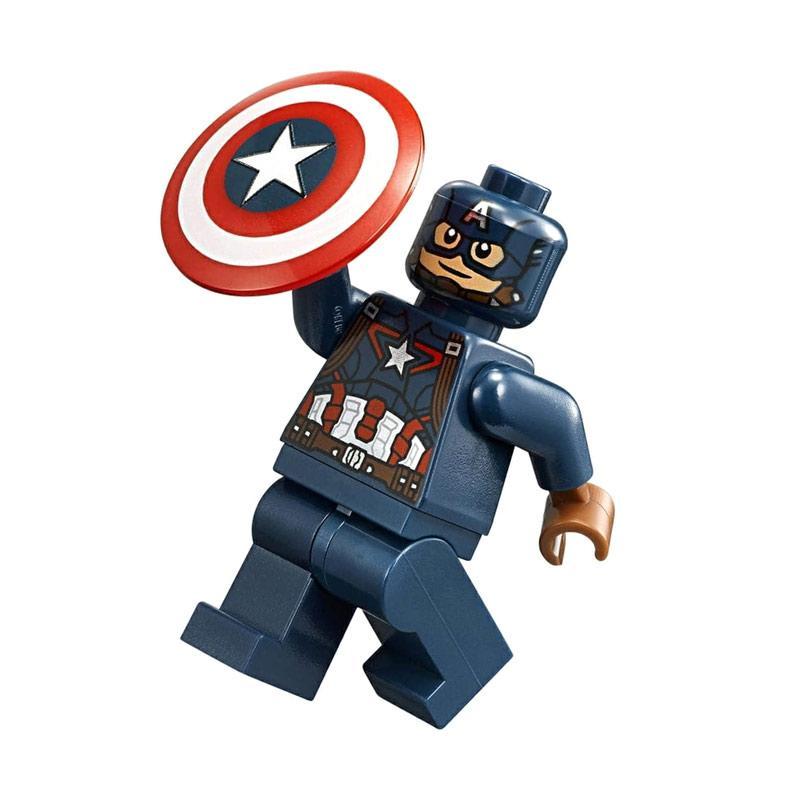 Jual Lego Marvel Civil War Super Heroes Minifigure Captain America Blocks Stacking Toys Online Oktober 2020 Blibli Com