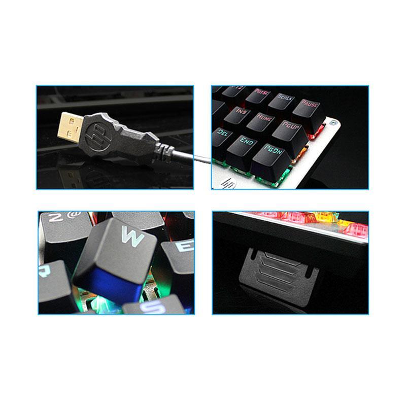 Jual Hp Gk200 Mechanical Keyboard Gaming Online Oktober 2020 Blibli Com