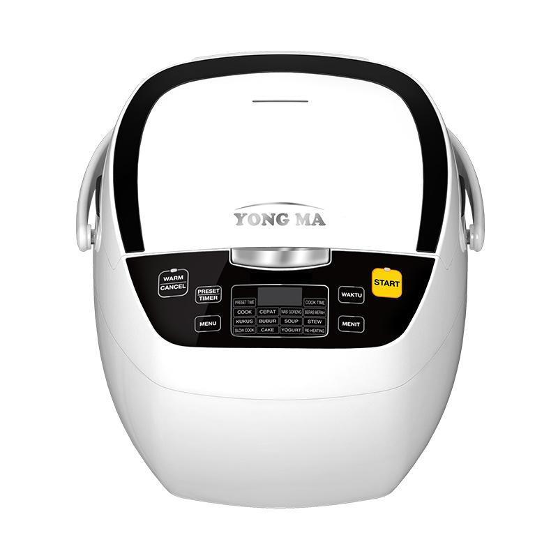 Yong Ma SMC 8017 Digital Rice Cooker - White [2 L]