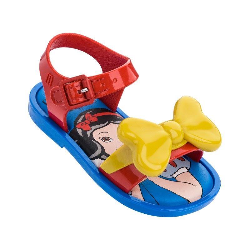 Mini Melissa Mar Snow White Bb Sepatu Sandal Anak Perempuan
