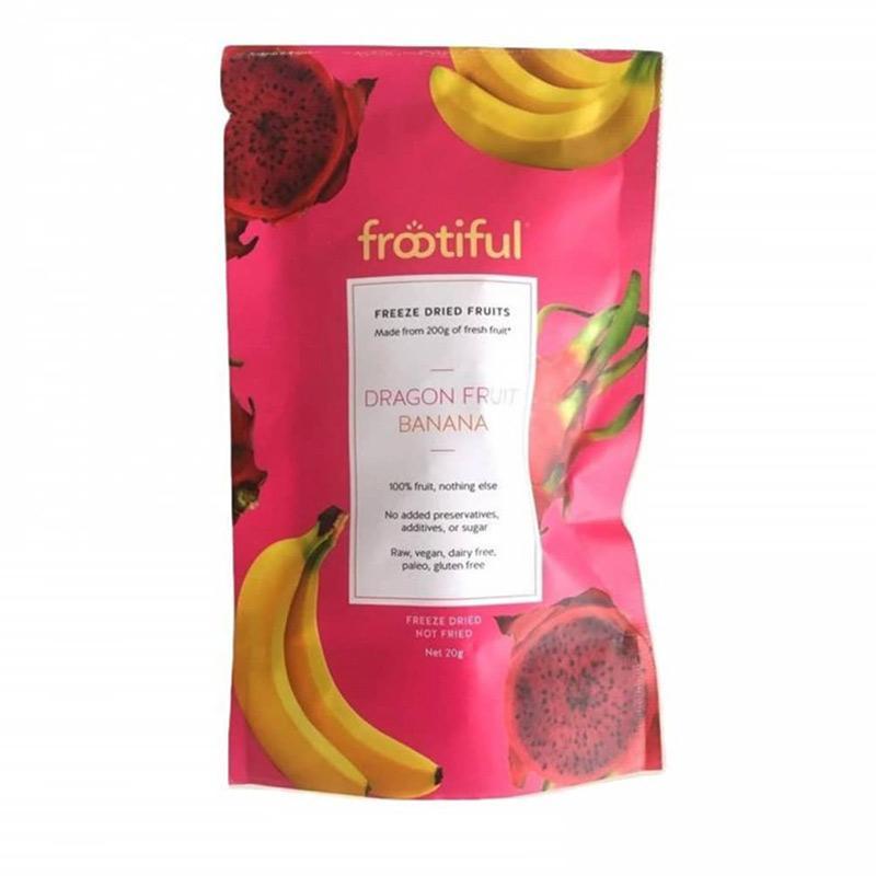 FROOTIFUL Dragon Fruit Banana Snack