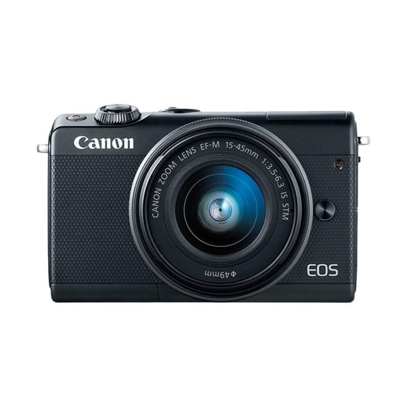CANON EOS M100 KIT 15 45MM Kamera Mirrorless Black
