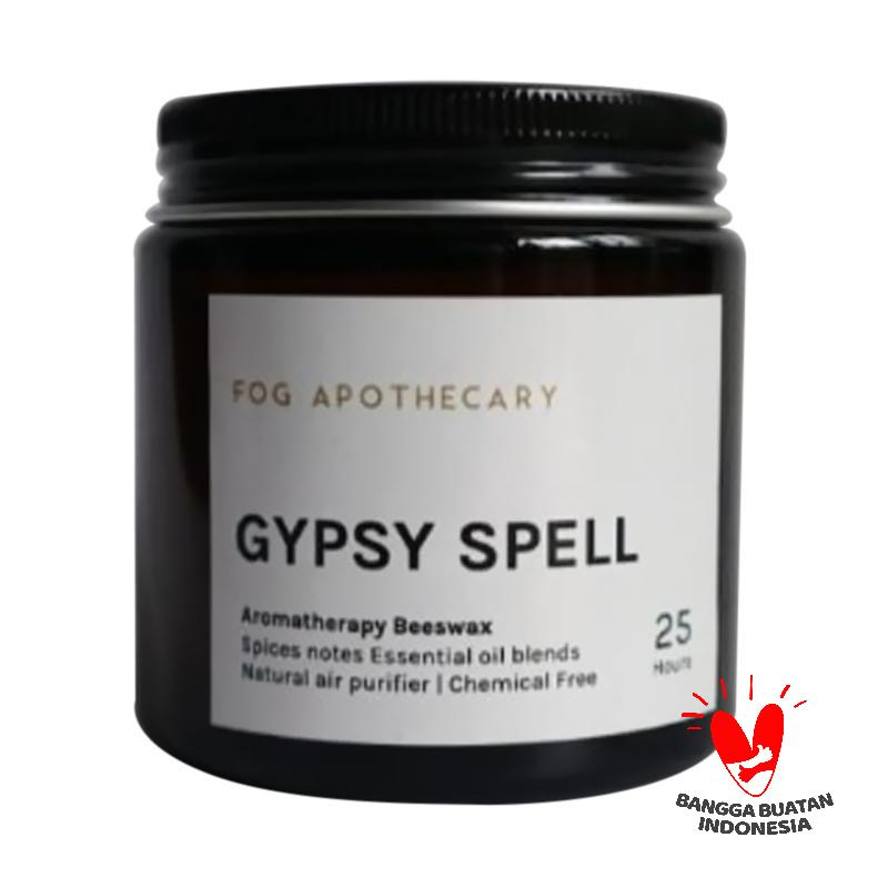 Fog Apothecary Gypsy Spell Beeswax Candle