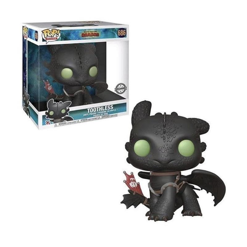 Jual Funko Pop How To Train Your Dragon 3 Toothless Night Fury Action Figure 10 Inch Online Oktober 2020 Blibli Com