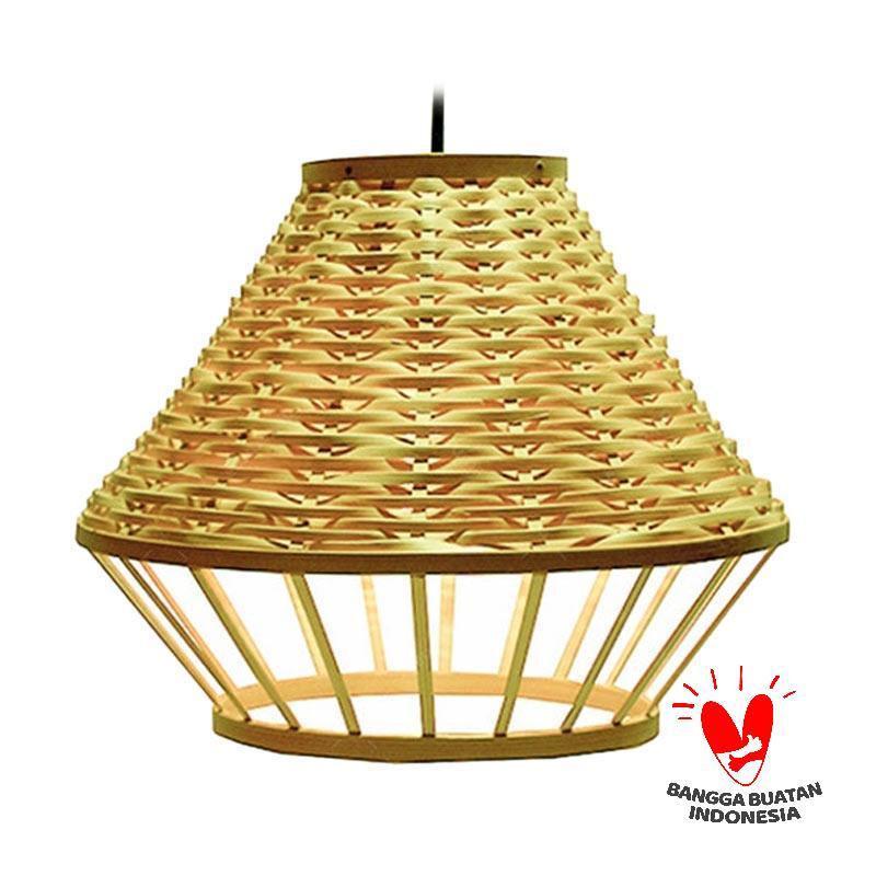 Alur BAMBOO Beska Edition Weaving Lamp Coklat