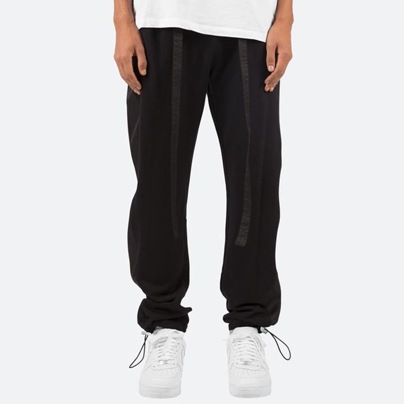 MNML Baggy Track Sweatpants Celana Panjang Pria Black
