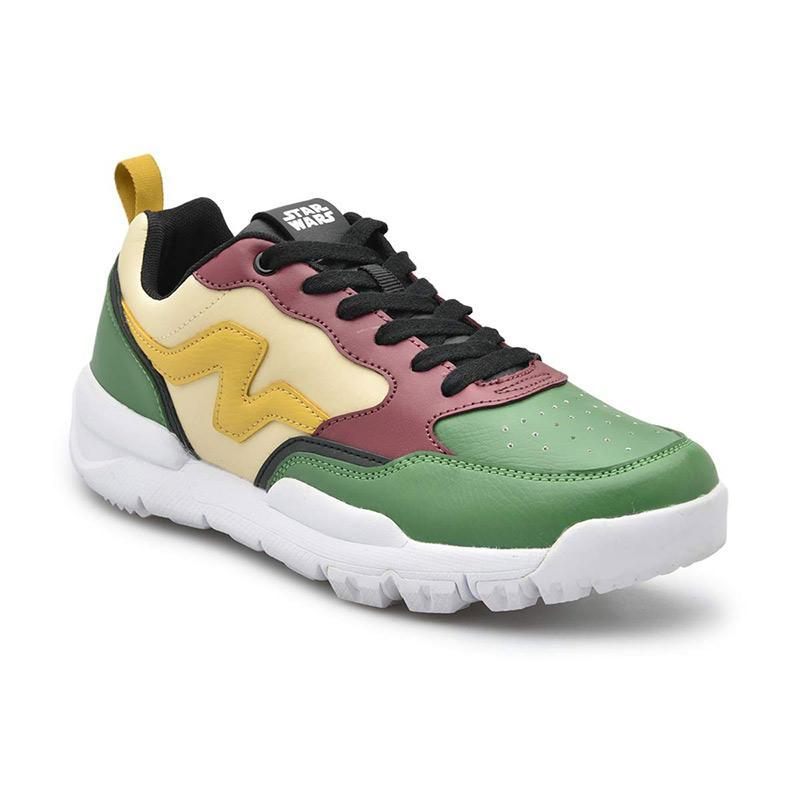 Nah Project Star Wars Coraggio Sneaker Boba Fett Cream Green
