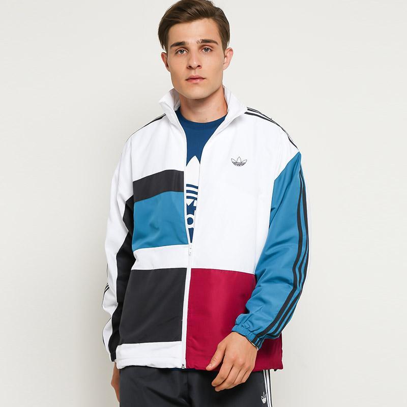 Adidas Originals Men Asymm Track Tops jacket Olahraga Pria
