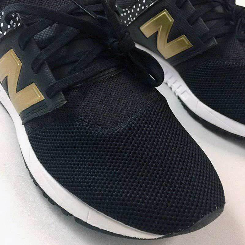 Jual New Balance 247 V1 Sepatu Lari Wanita - Black Gold [Original ...