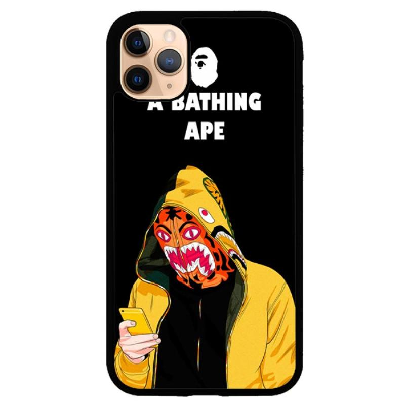 Hardcase Casing Custom Iphone 11 Pro Max A Bathing Ape Wallpaper J0036 Case Cover