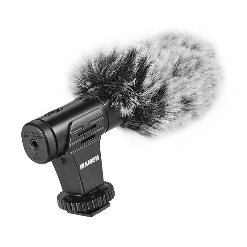 Mamen MIC 07 Shotgun Miv Vlogging Microphone for Vlog Camera Mirrorless DSLR Smartphone