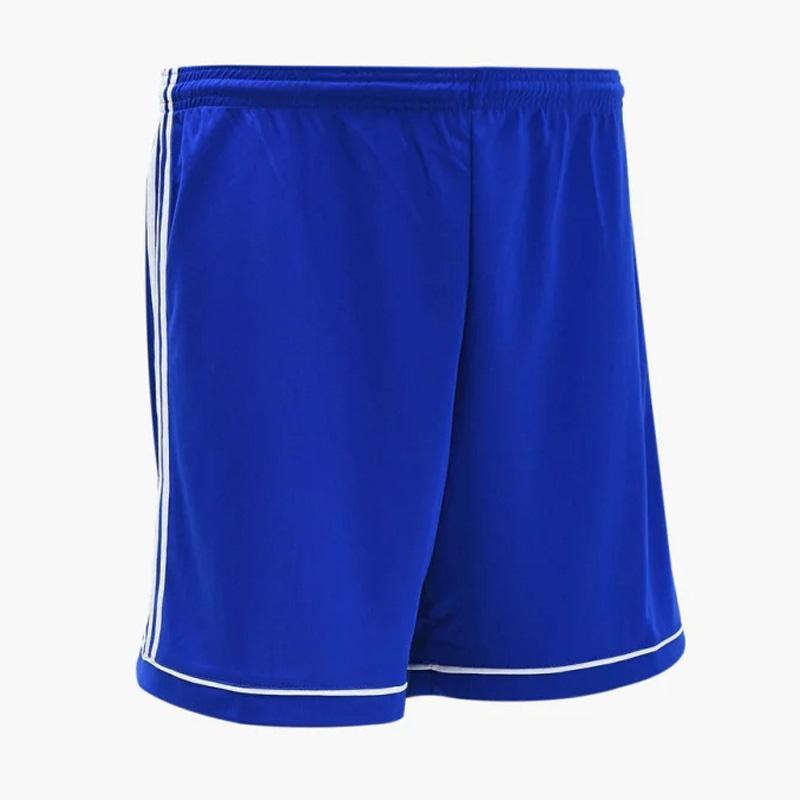 Navy Blue Football Gym Sports New Mens Adidas Climalite Samba Training Shorts