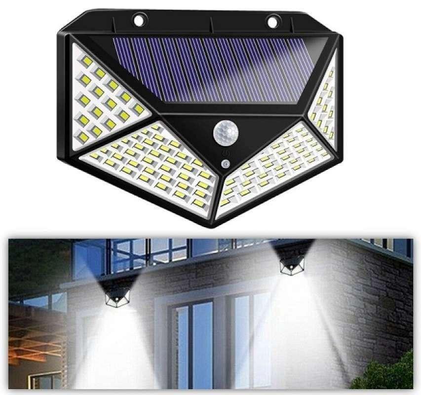 Jual Lampu Taman 100 Led Solar Tenaga Surya Uv Matahari Motion Sensor Wall Light Outdoor Emergency Online April 2021 Blibli