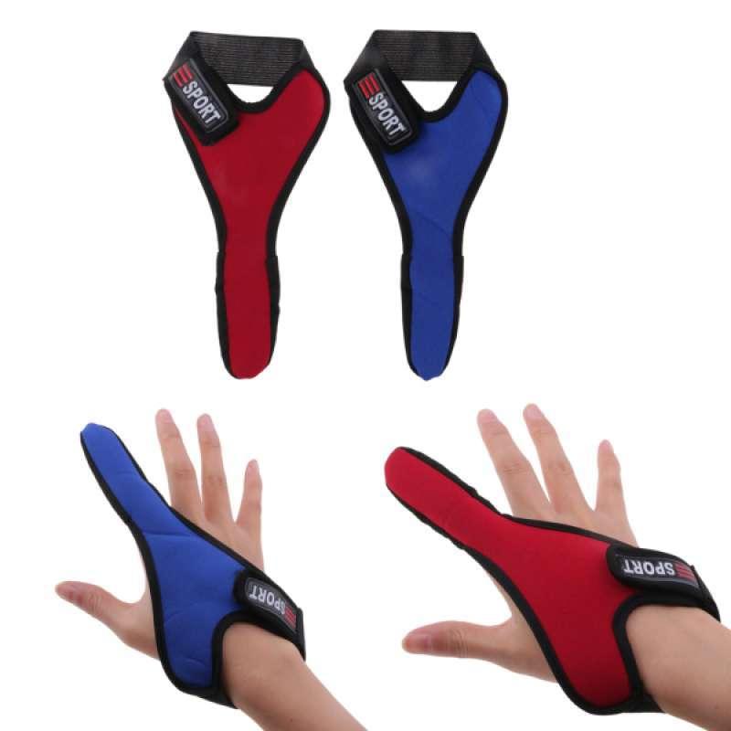 2pcs Adjustable Index Finger Protectors Anti-Slip One Finger Fishing Gloves