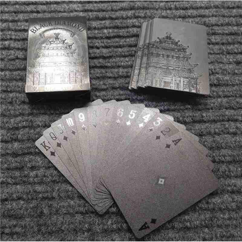 Jual Black Diamond Smartacc Kartu Poker Remi Plastik Waterproof Online Maret 2021 Blibli